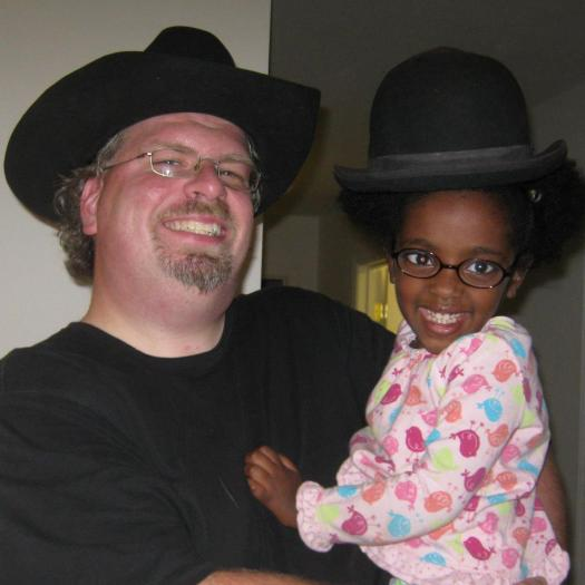My Bowler and my Cowboy Hat from Philmont