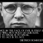 Dietrich Bonhoeffer's birthday