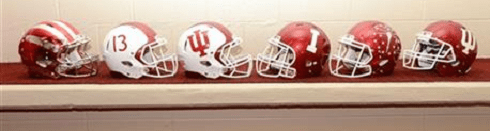 IU football Helmets 2013 - image via http://binaryapi.ap.org/f1a4c6eeca844eb19d8b1a3ddecc69bc/460x.jpg