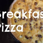 A family favorite: Breakfast Pizza!