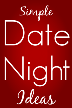 Simple Date Night Ideas