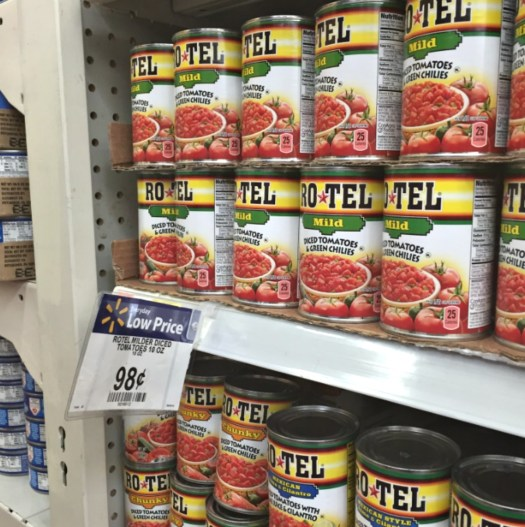 Great Savings on RO*TEL at Walmart! #JustAddRotel #ad