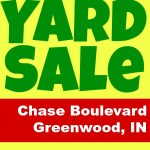 The YARD SALE is almost here!