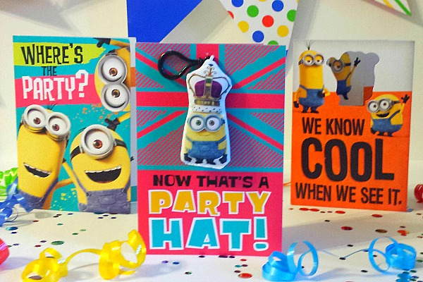 Minions Party Cards #SendSmiles