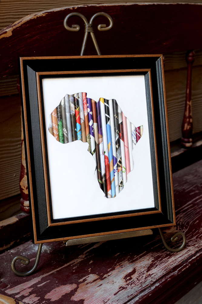 Rolled Art -Africa