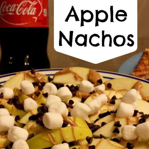 Apple Nachos Recipe #EffortlessMeals #ad
