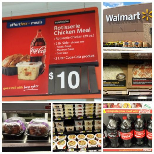 #EffortlessMeals at Walmart Collage #ad