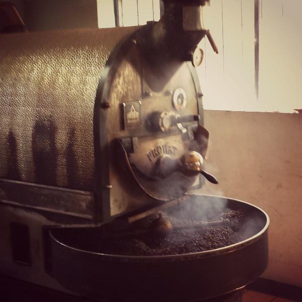 Roasting Coffee Beans in Ethiopia