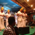 It's time to dance. Ethiopian style.
