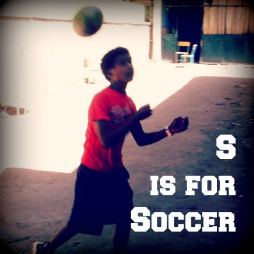 S is for Soccer #AtoZChallenge #AtoZChallenge2016