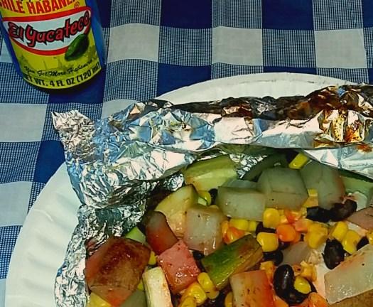 Southwest Chicken Foil Dinner [AD] #KingofFlavor