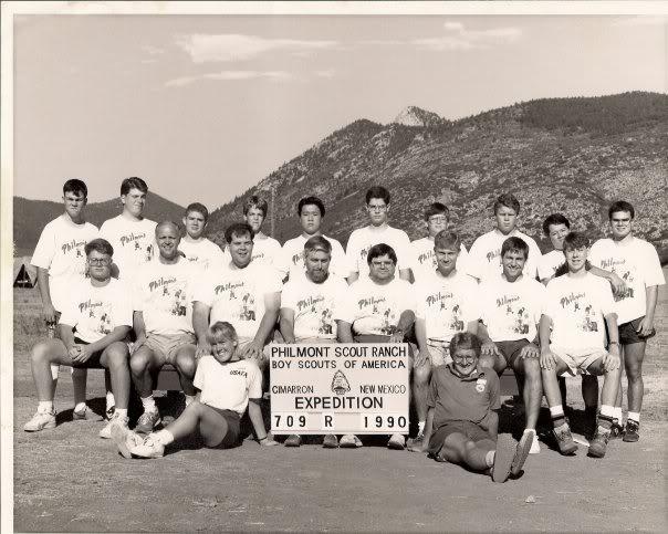 1990 Philmont Crew