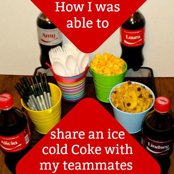 How I was able to share an ice cold Coke with my teammates #ShareIceColdFun #ad