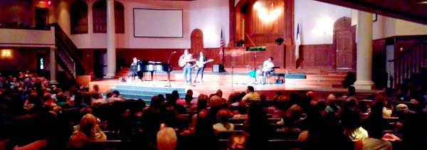 Andrew Peterson in concert in Plainfield Indiana