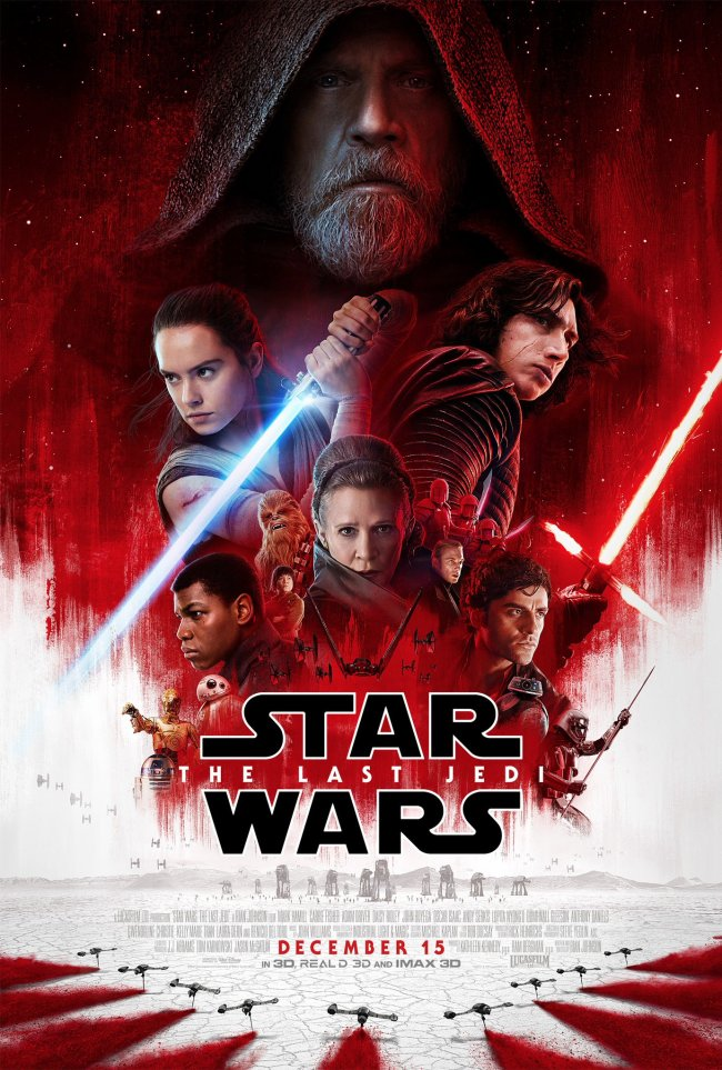 Star Wars The Last Jedi Episode VIII movie poster