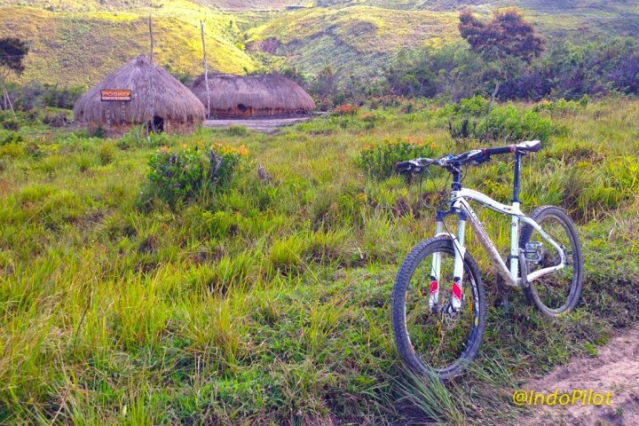 Some amazing single-track trails just outside of Wamena