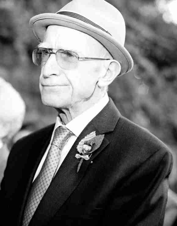 My Dad at my Wedding