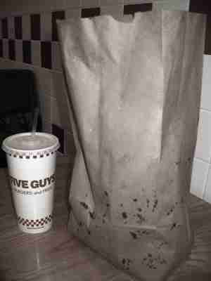 Five Guys Bag