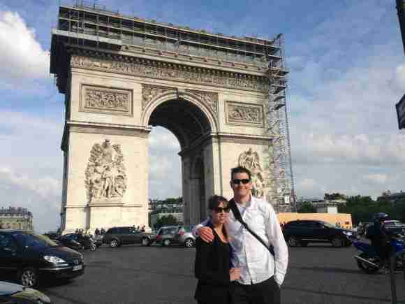 Arc de Triomphe - Thanks Napoleon!
