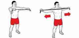 Standing Band Pulls