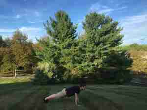 Burpee - Push-Up Position Modification
