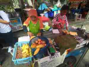 Chatuchak Weekend Market Banana Egg Roti Stand