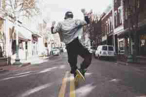 Man_Jumping_In_Street