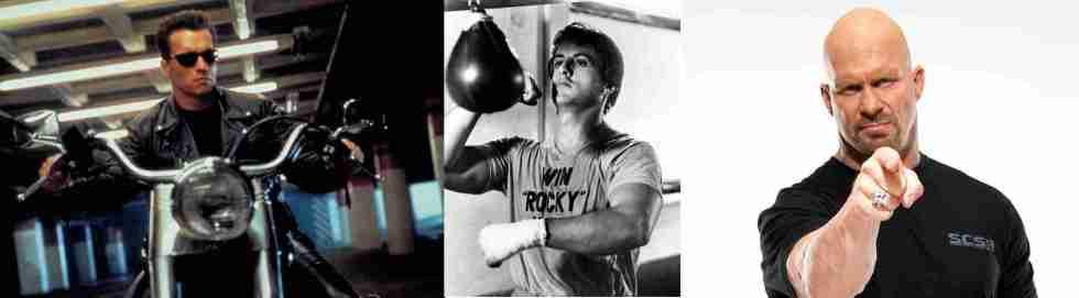 The Terminator, Rocky, Stone Cold Steve Austin