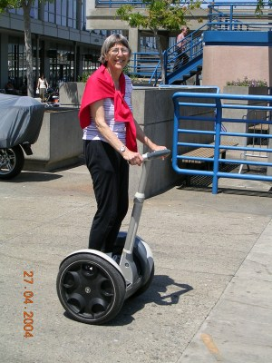 Sybil on the Segway