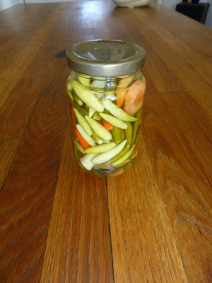 pickled Thai peppers
