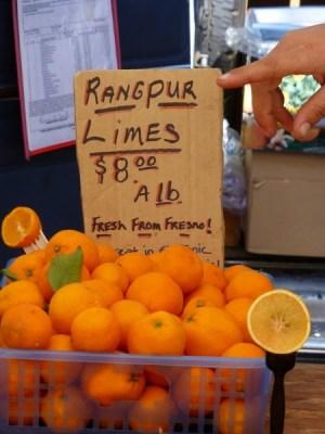 Rangpur limes