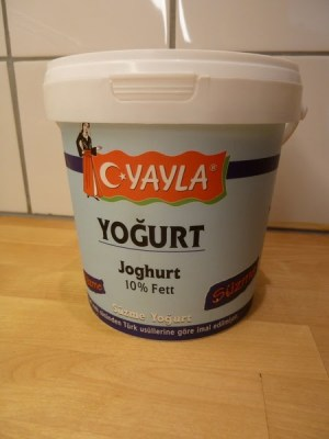 Turkish yogurt