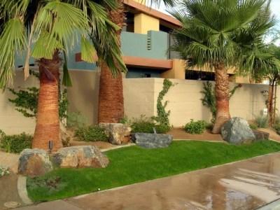 Palm Springs sidewalk