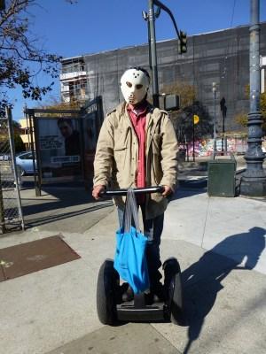 Halloween Segwayer