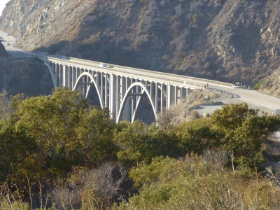 Bridge on CA-1 south of the Bixby Bridge