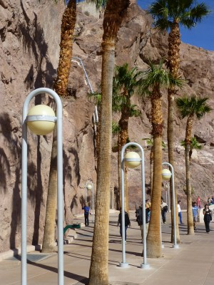 Hoover Dam light fixtures