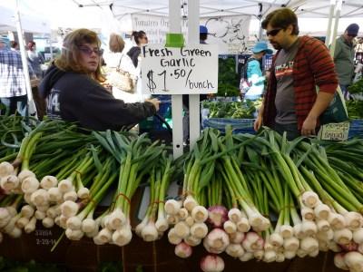 Herr's fresh green garlic