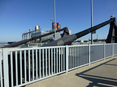 Illinois Street Bridge mechanism