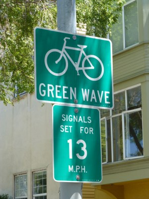 San Francisco bike route timing