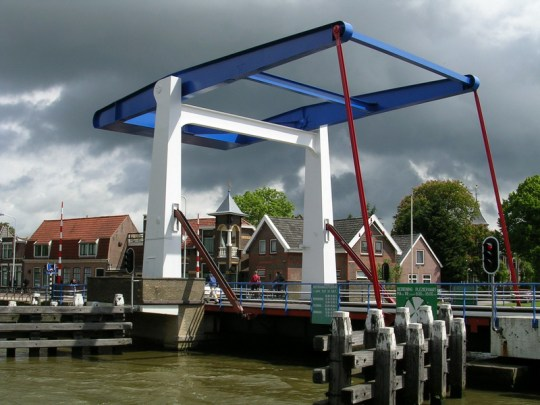 Drawbridge in Frentsjer