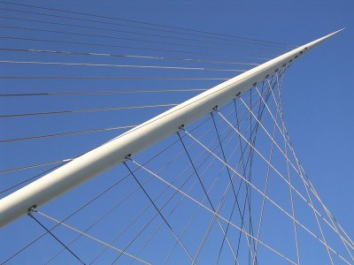 Calatrava's Nieuwe Vennep bridge