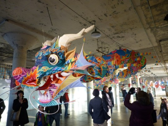 Ai Weiwei dragon at Alcatraz