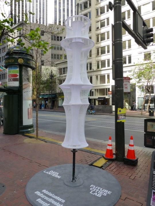 Market Street Prototype - Data Lantern