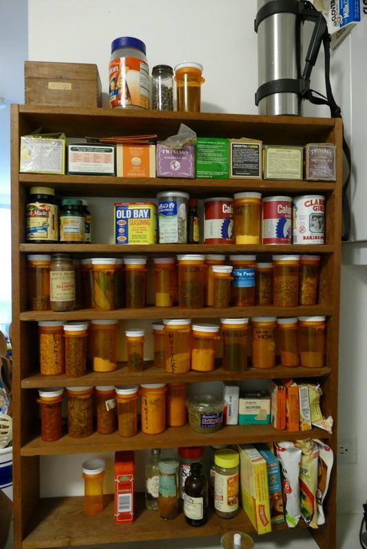 Allen's spice rack