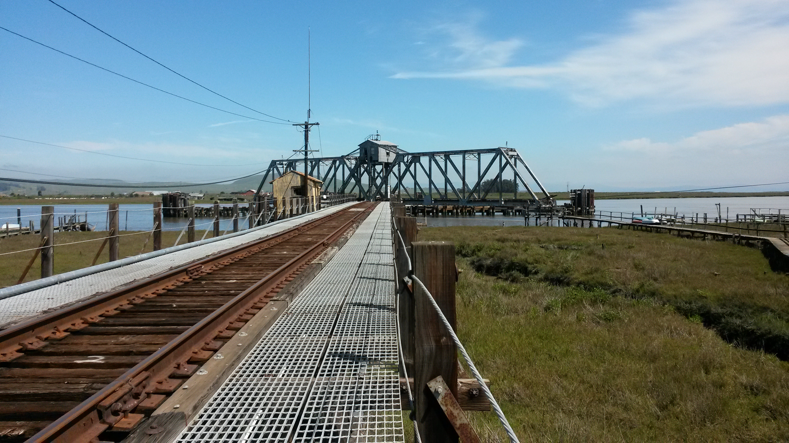 the bridges of the petaluma draw bridge novato train crossing petaluma river