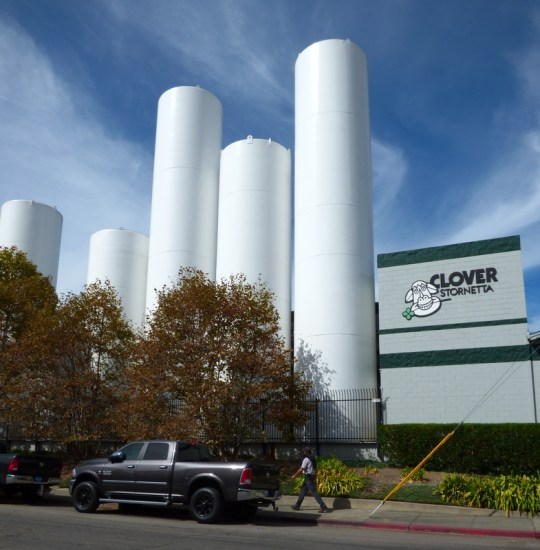 Clover Stornetta production facility