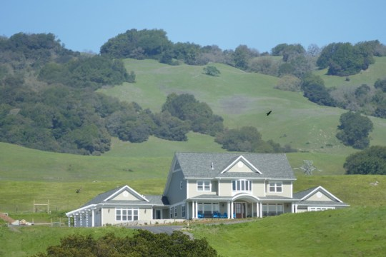 Sonoma Mountain country estate