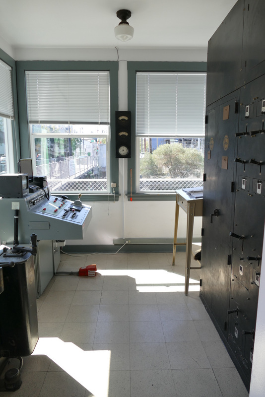 D Street Bridge control room