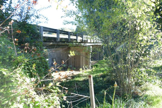 Russian River bridge at Moore Street in Calpella