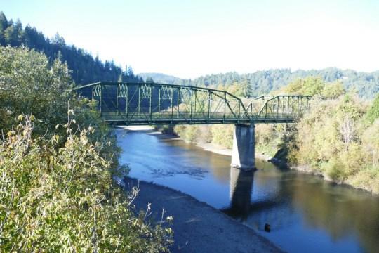 Russian River bridge Guerneville